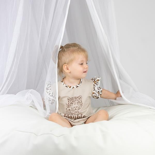 Nachthemd leopard